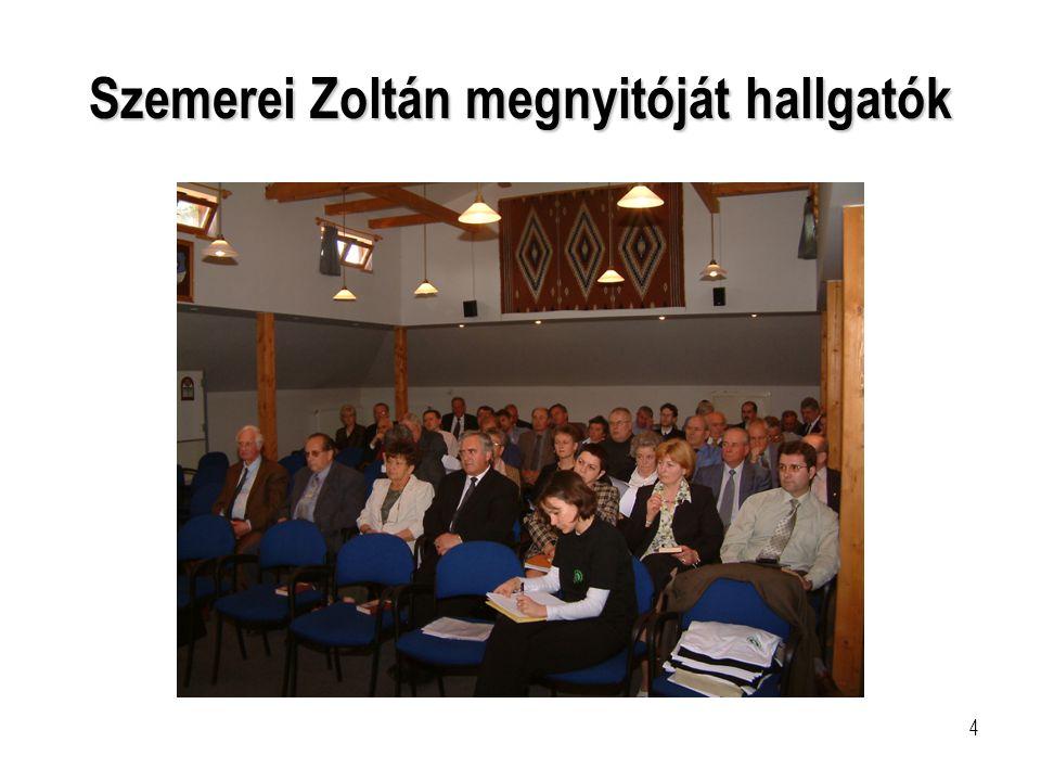 5 Lengyel Anna szerkesztő-riporter Novotny Zoltán sportújságíró a Déli Evangélikus Egyházkerület két felügyelő jelöltje