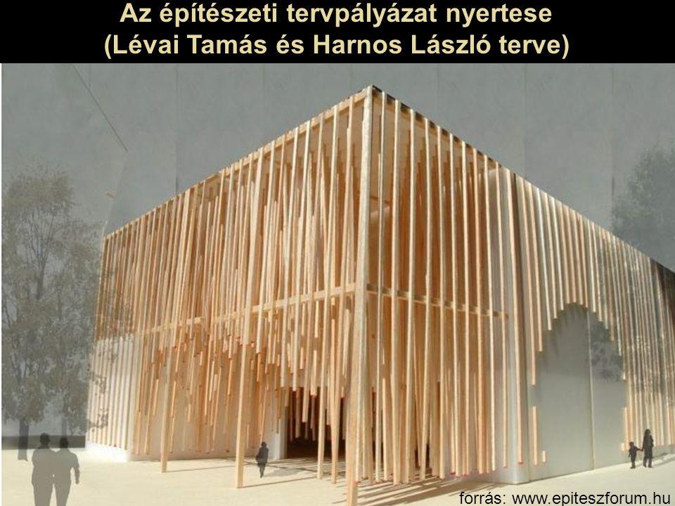 Az építészeti tervpályázat nyertese (Lévai Tamás és Harnos László terve) forrás: www.epiteszforum.hu