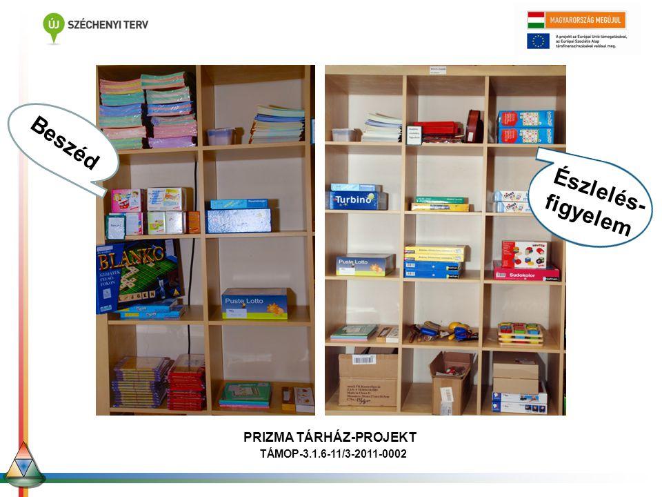 Ori Beszéd Észlelés- figyelem PRIZMA TÁRHÁZ-PROJEKT TÁMOP-3.1.6-11/3-2011-0002