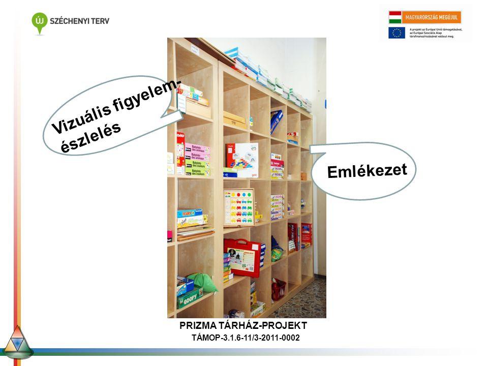 PRIZMA TÁRHÁZ-PROJEKT TÁMOP-3.1.6-11/3-2011-0002 Ori Emlékezet Ofri Vizuális figyelem- észlelés PRIZMA TÁRHÁZ-PROJEKT TÁMOP-3.1.6-11/3-2011-0002