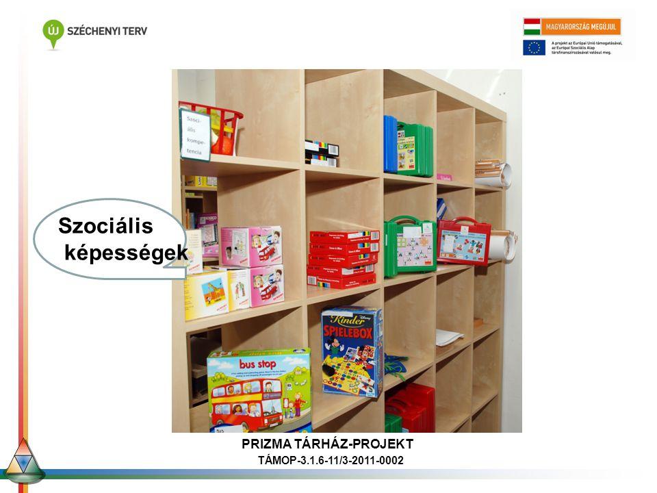 Ori Szociális képességek PRIZMA TÁRHÁZ-PROJEKT TÁMOP-3.1.6-11/3-2011-0002