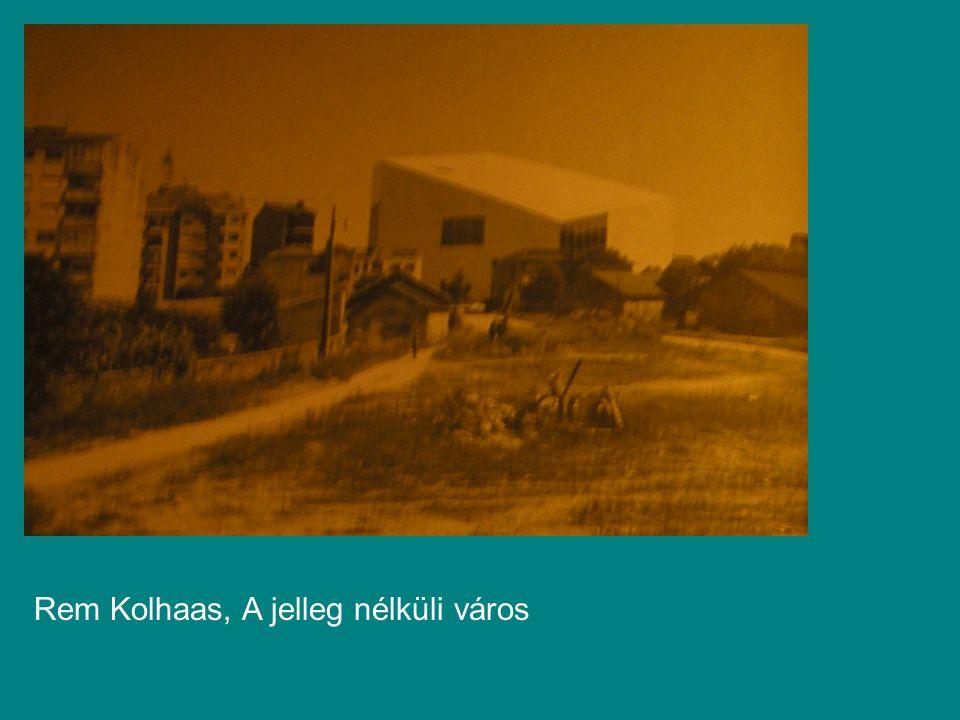 Rem Kolhaas, A jelleg nélküli város