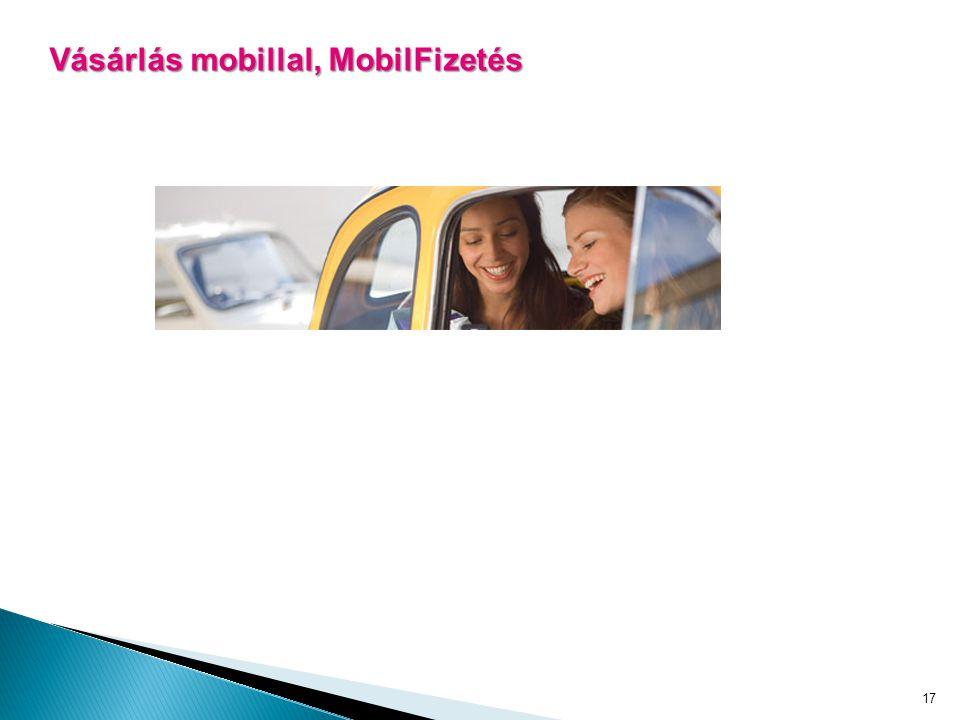 17 Vásárlás mobillal, MobilFizetés
