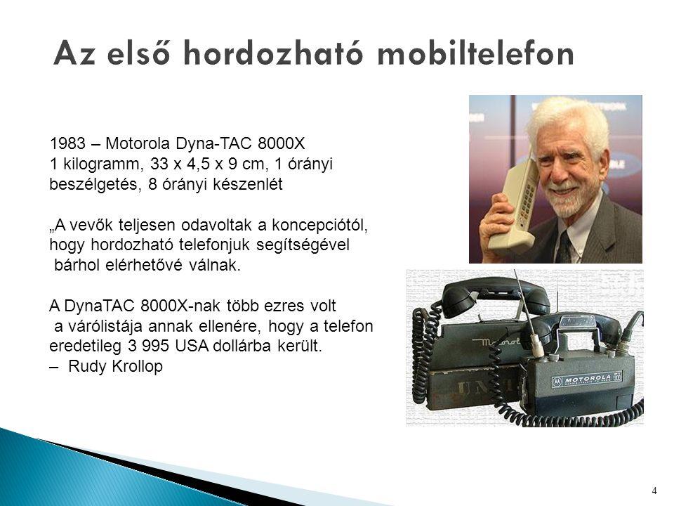  Olyan készülék, amely: ◦ Akkumulátorról üzemel ◦ Támogat valamilyen vezeték nélküli technológiát ◦ Rendelkezik valamilyen felhasználói felülettel (pl.