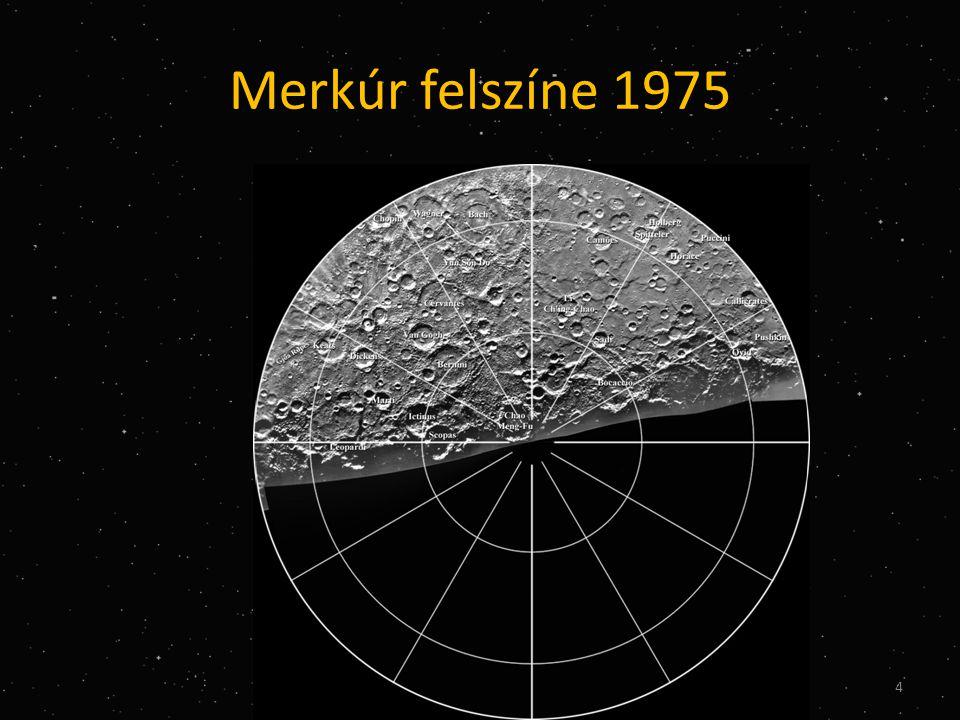 Elnevezések a Holdon IAU 1970-1994 • Hédervári (Péter 1931-1984, 69 km az innenső oldalon, újságíró) • Izsák (Imre Gyula, 1929-1965, 30 km, fizikus, matematikus, mesterséges holdak, NASA) • Kármán (Tódor 1881-1963, 180 km mérnök, szuperszónikus repülés, rakéták égésterében zajló folyamatok tanulmányozása) 25