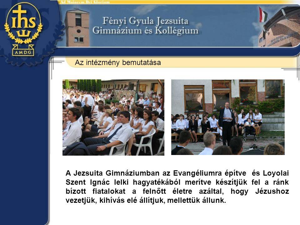 A Jezsuita Gimnáziumban az Evangéliumra építve és Loyolai Szent Ignác lelki hagyatékából merítve készítjük fel a ránk bízott fiatalokat a felnőtt élet