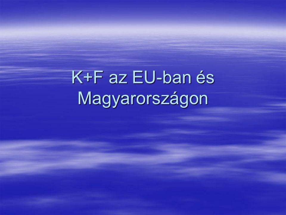 K+F az EU-ban és Magyarországon