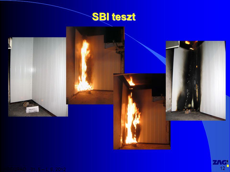 12 VISEGRAD 31. 5 – 1. 6. 2012 SBI teszt