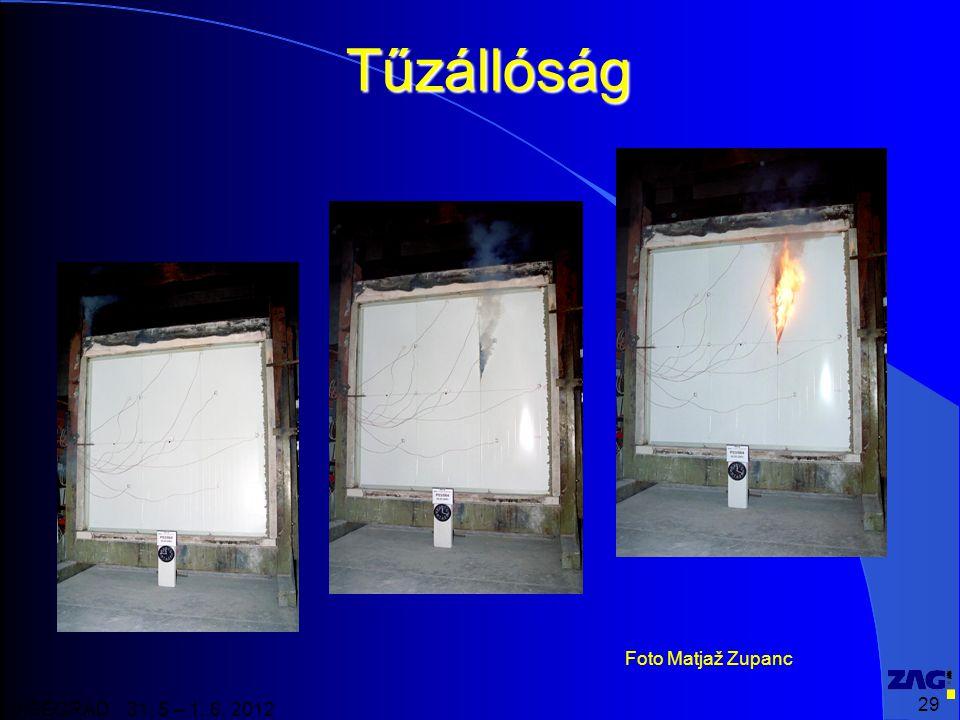 29 VISEGRAD 31. 5 – 1. 6. 2012 Tűzállóság Foto Matjaž Zupanc