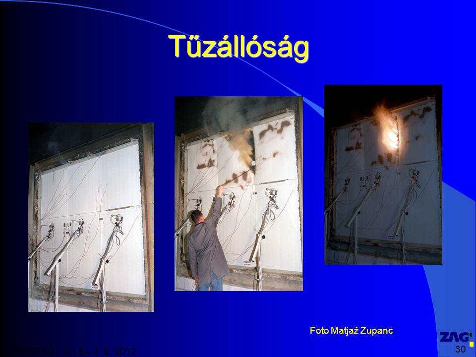 30 VISEGRAD 31. 5 – 1. 6. 2012 Tűzállóság Foto Matjaž Zupanc