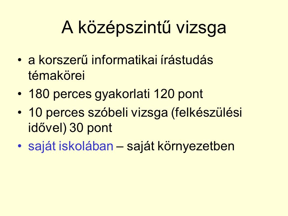 Szövegszerkesztési kompetenciák •ECDL követelmény bővebben •az általa tanult (!) szövegszerkesztő programo használata •szöveget javítani •többféle formátumú dokumentum megnyitása, konvertálása és mentése •Pl.: Csúnyán gépelt szöveg javítása (felesleges bekezdések, szóközök, más jelek törlése, cseréje)