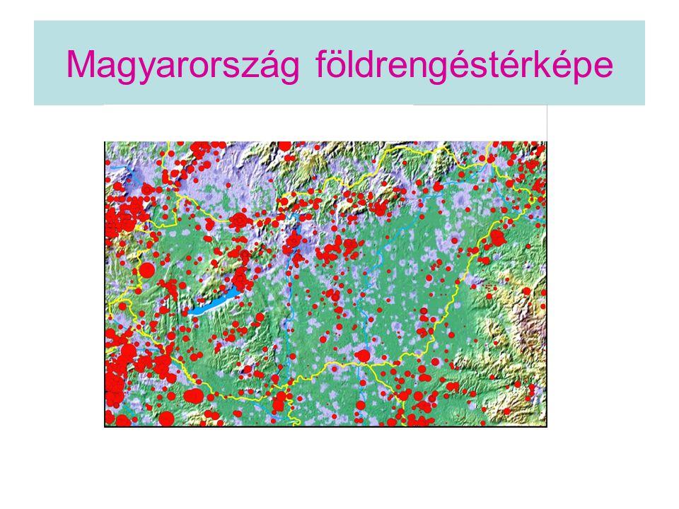 Magyarország földrengéstérképe