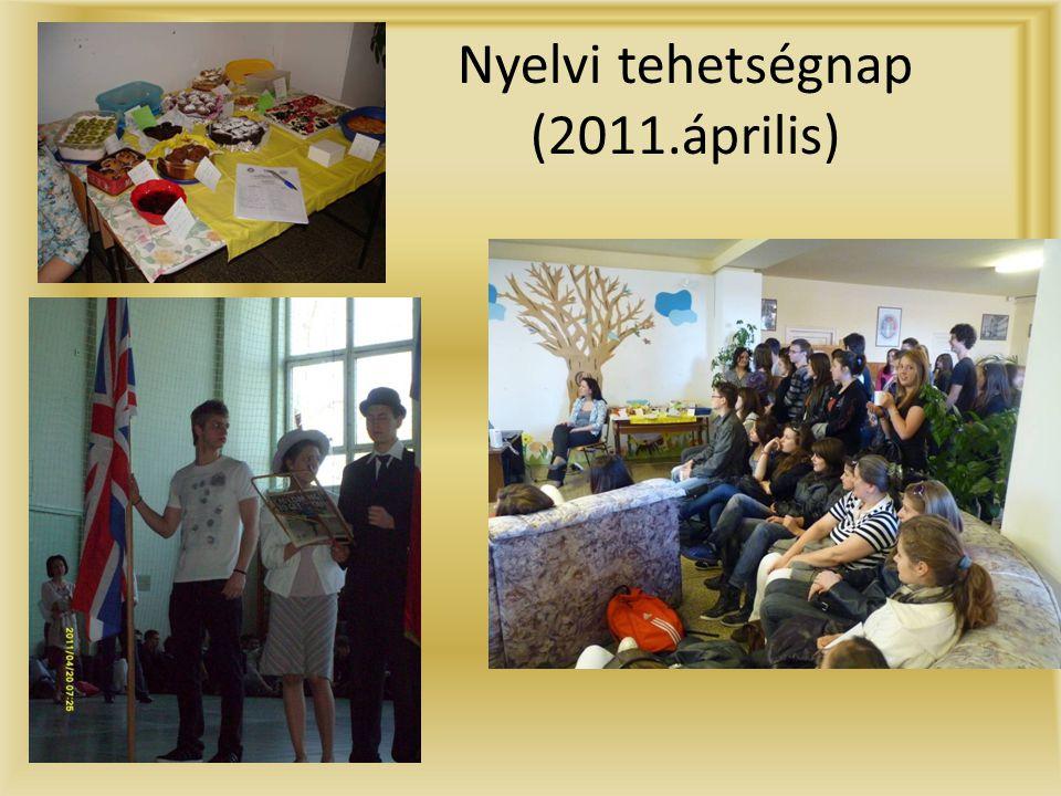 Nyelvi tehetségnap (2011.április)