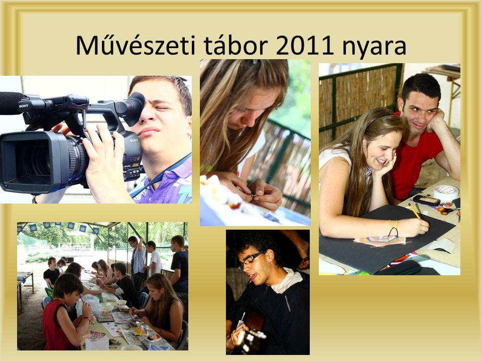 Művészeti tábor 2011 nyara
