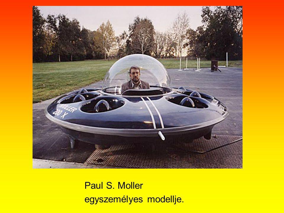 Paul S. Moller egyszemélyes modellje.