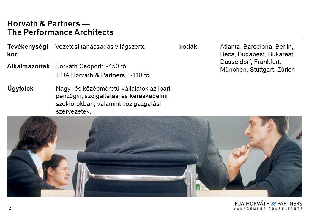 2 Horváth & Partners — The Performance Architects IrodákAtlanta, Barcelona, Berlin, Bécs, Budapest, Bukarest, Düsseldorf, Frankfurt, München, Stuttgar