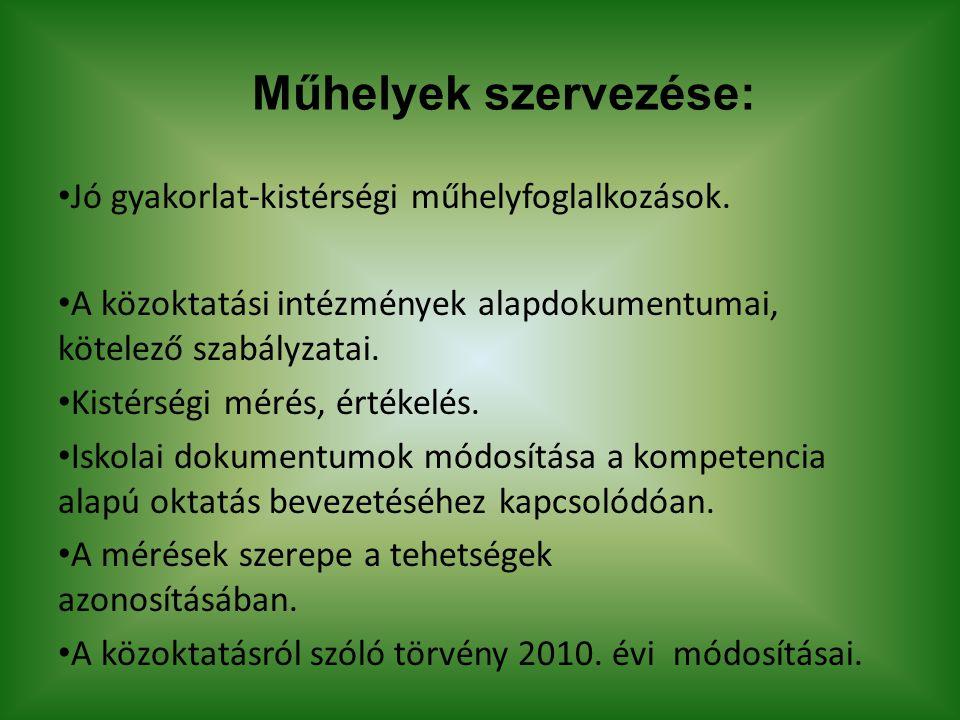 Látogató intézmények száma Iskola: 32 • B-A-Z megye: 15 • Kelet-Magyarország: 5 • Budapest: 8 • Dunántúl: 4 Óvoda: 2