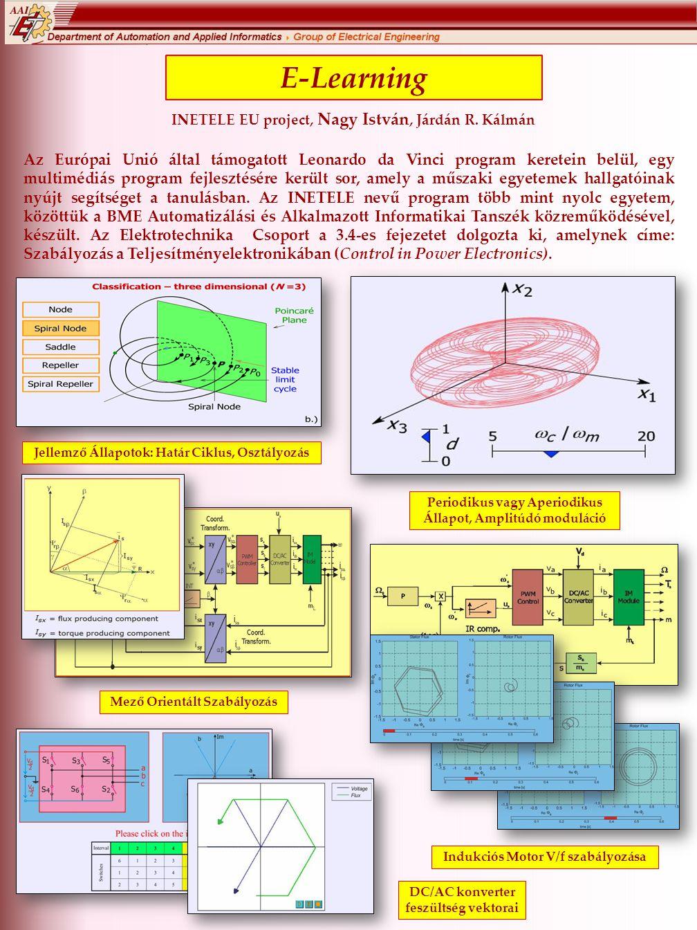 E-Learning INETELE EU project, Nagy István, Járdán R.