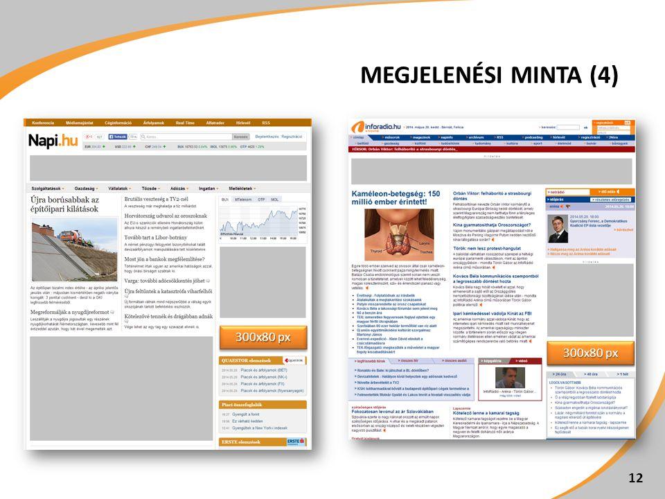 MEGJELENÉSI MINTA (4) 12 300x80 px