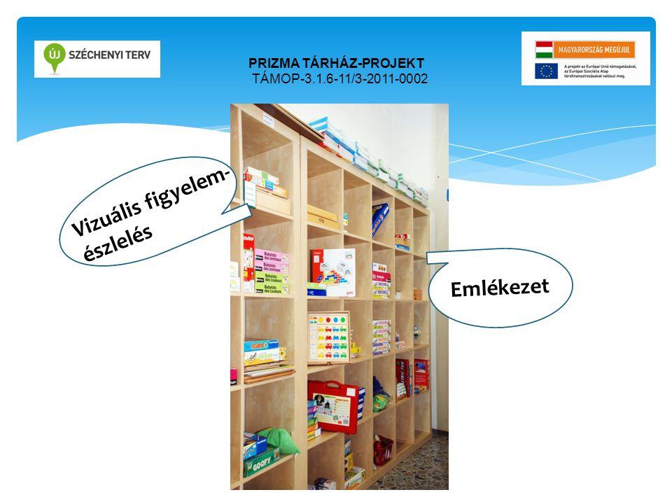 PRIZMA TÁRHÁZ-PROJEKT TÁMOP-3.1.6-11/3-2011-0002 Ori Emlékezet Ofri Vizuális figyelem- észlelés