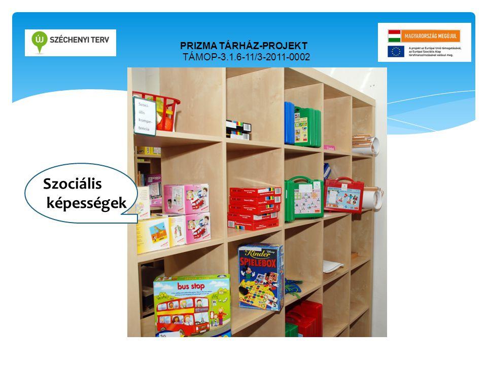 PRIZMA TÁRHÁZ-PROJEKT TÁMOP-3.1.6-11/3-2011-0002 Ori Szociális képességek