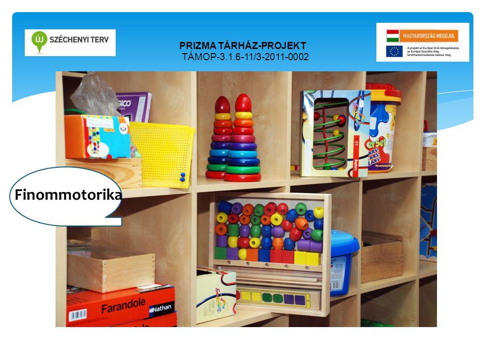 PRIZMA TÁRHÁZ-PROJEKT TÁMOP-3.1.6-11/3-2011-0002 Ori Finommotorika