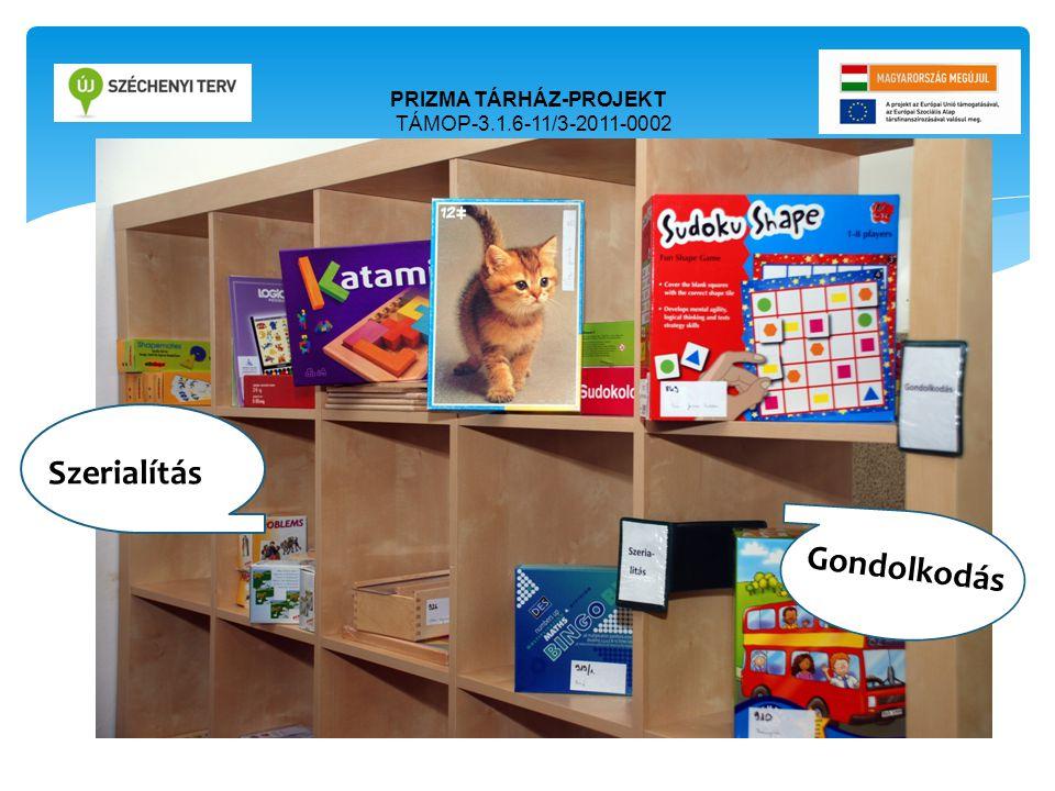 PRIZMA TÁRHÁZ-PROJEKT TÁMOP-3.1.6-11/3-2011-0002 Ori Szerialítás Ori Gondolkodás
