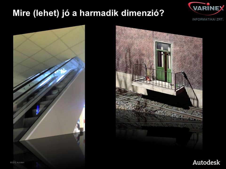 © 2012 Autodesk Általában 7 percre van szükség ahhoz, hogy az ember elaludjon