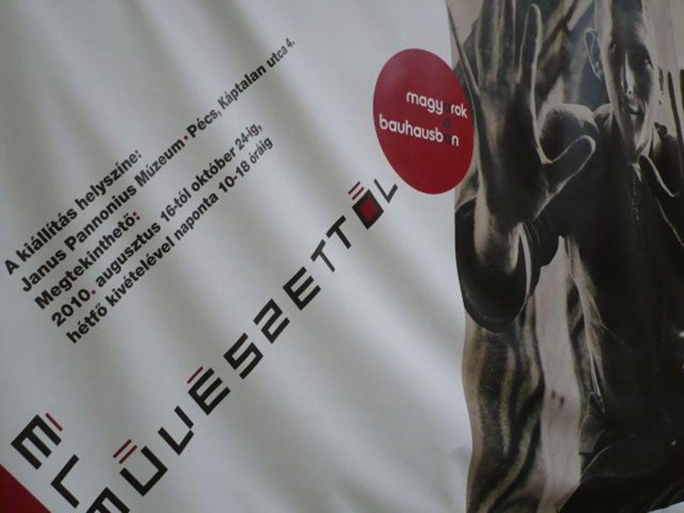 Magyarok (pécsiek) a Bauhausban