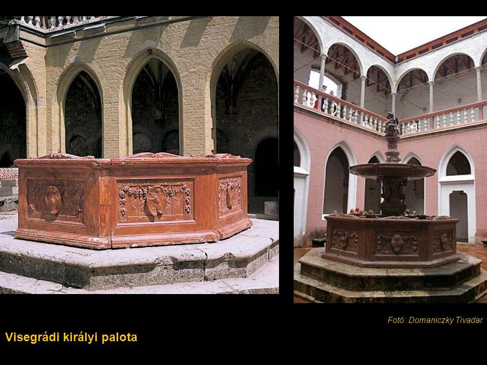 Visegrádi királyi palota Fotó: Domaniczky Tivadar