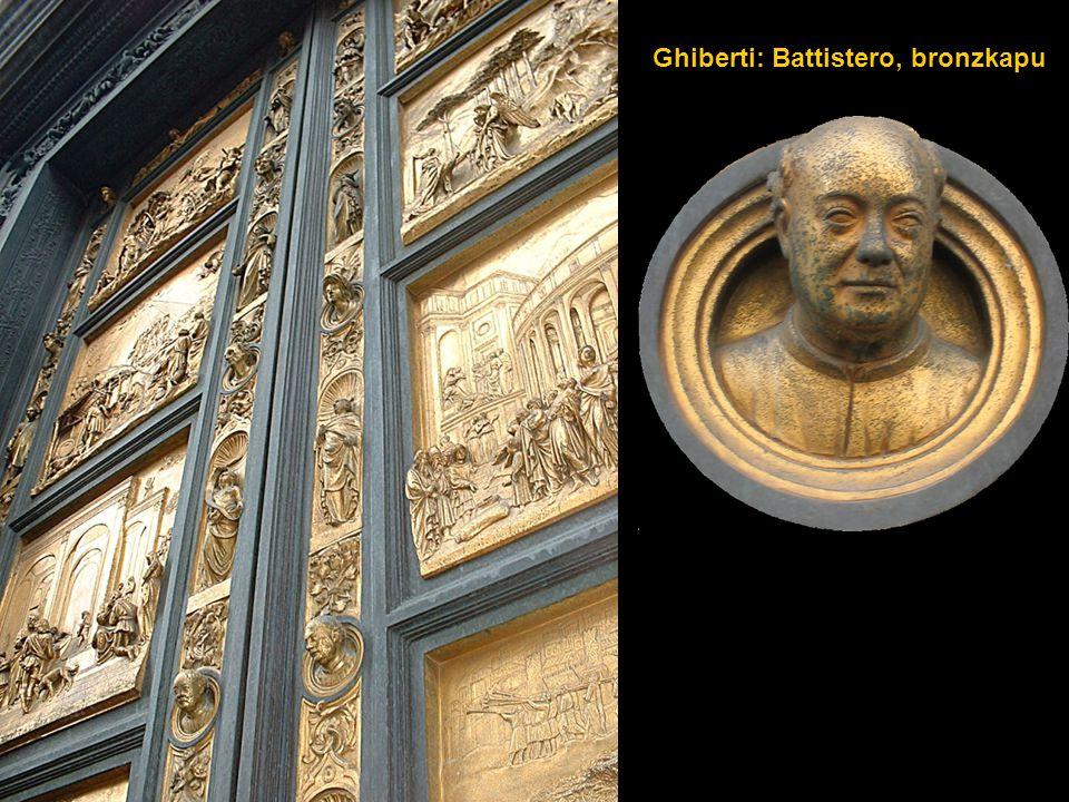 Ghiberti: Battistero, bronzkapu
