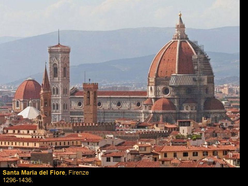 Santa Maria del Fiore, Firenze 1296-1436.