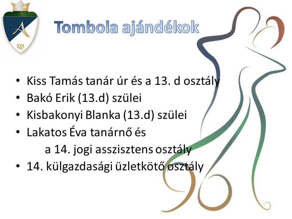 • Kiss Tamás tanár úr és a 13.