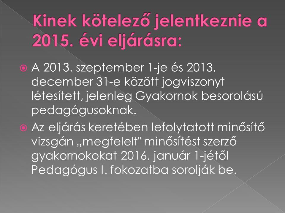  A 2013.szeptember 1-je és 2013.