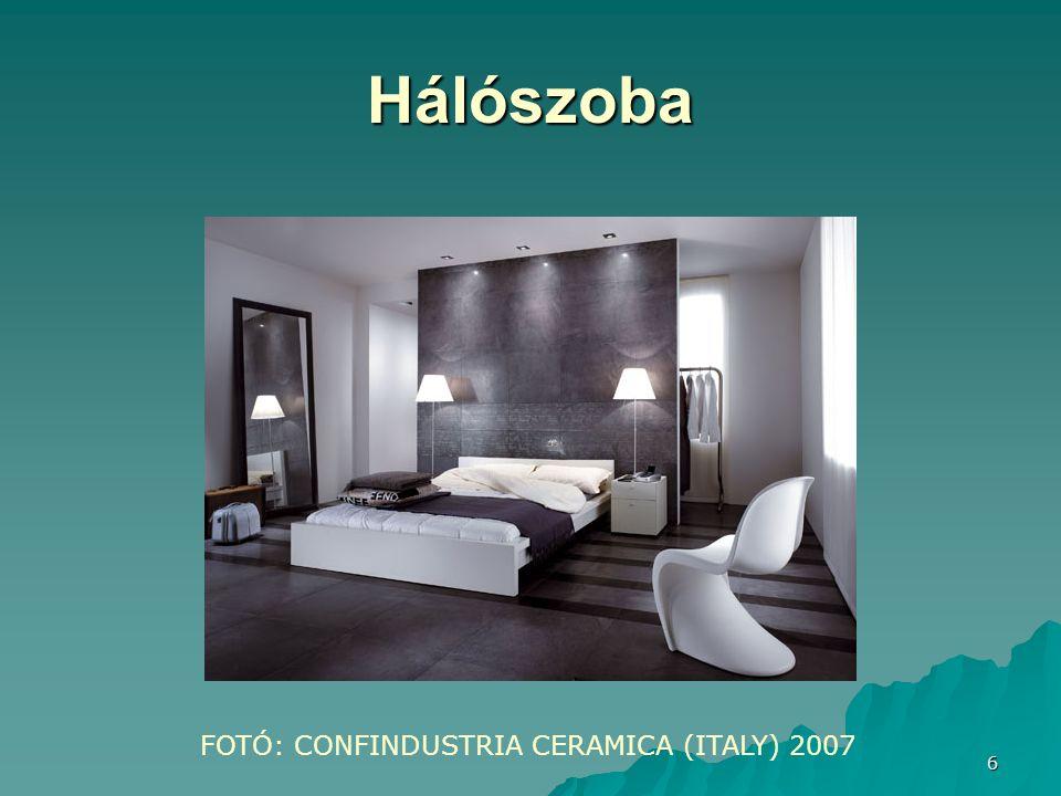 6 Hálószoba FOTÓ: CONFINDUSTRIA CERAMICA (ITALY) 2007