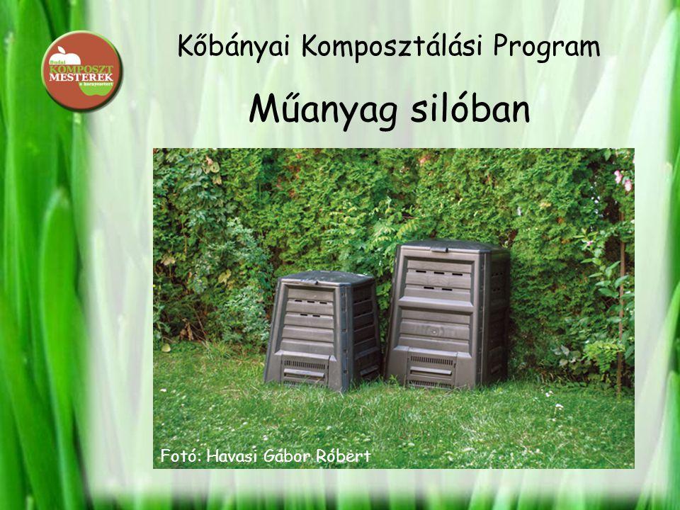 Kőbányai Komposztálási Program Műanyag silóban Fotó: Havasi Gábor Róbert
