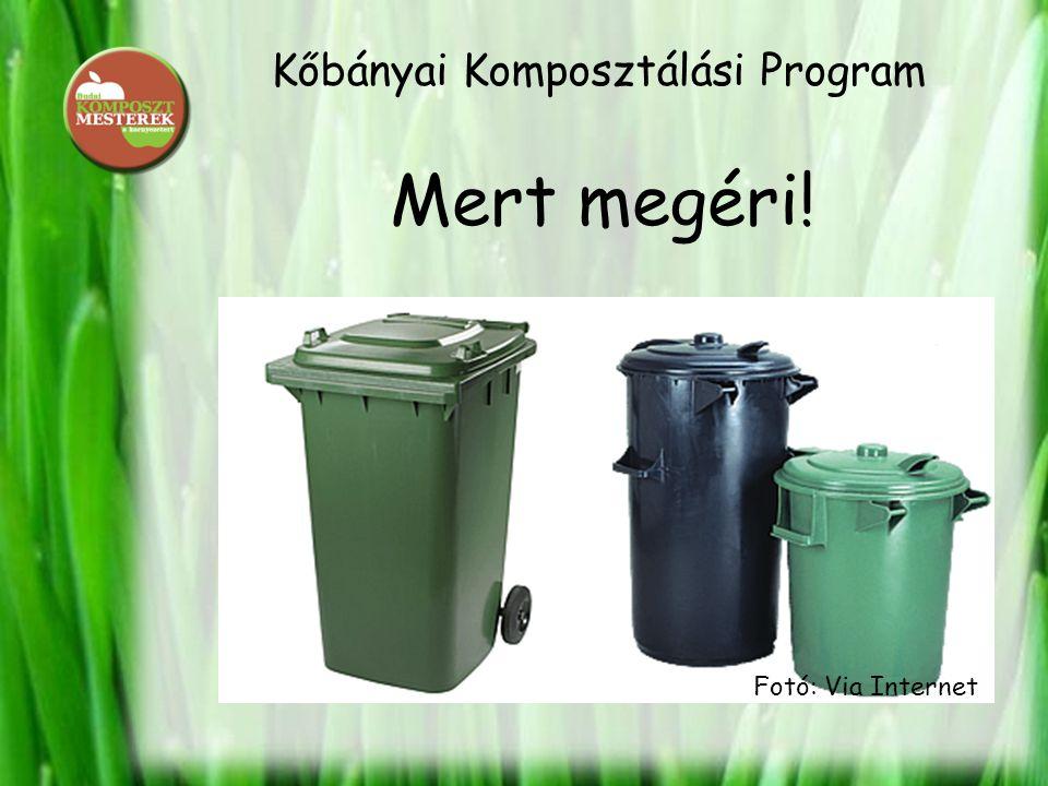 Kőbányai Komposztálási Program Mert megéri! Fotó: Via Internet