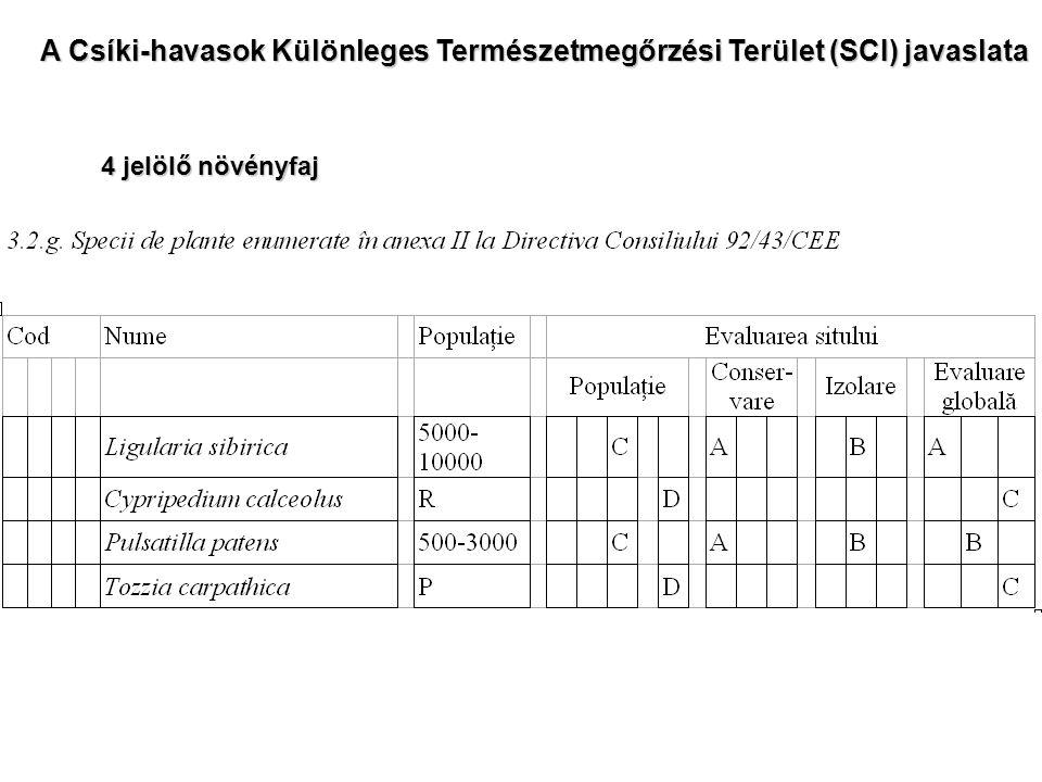 Jelölő növényfaj.A Boldogasszony papucsa (Cypripedium calceolus) sérülékeny növényfaj.