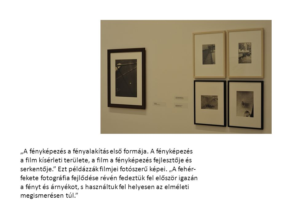 A fotó mellett a filmmel is foglalkozott. Megírta a német fotó és film történetét.