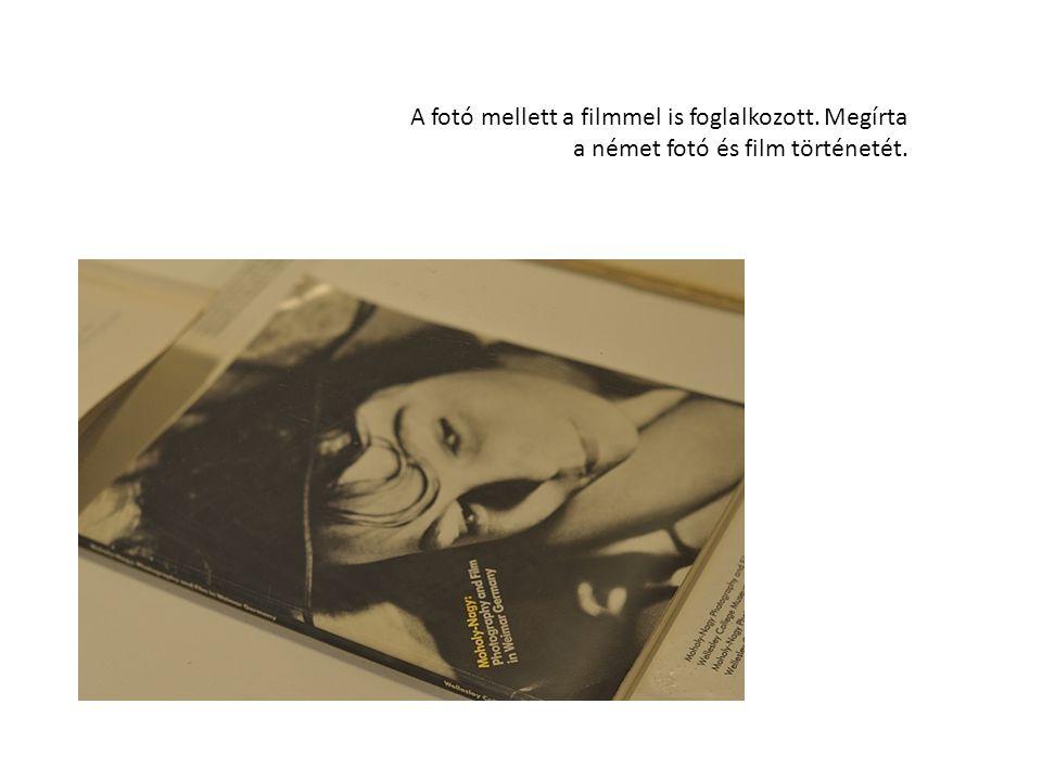 M.szerint a filmben a fényalakítás kulcsa a fotogram, a kamera nélküli fotográfia.