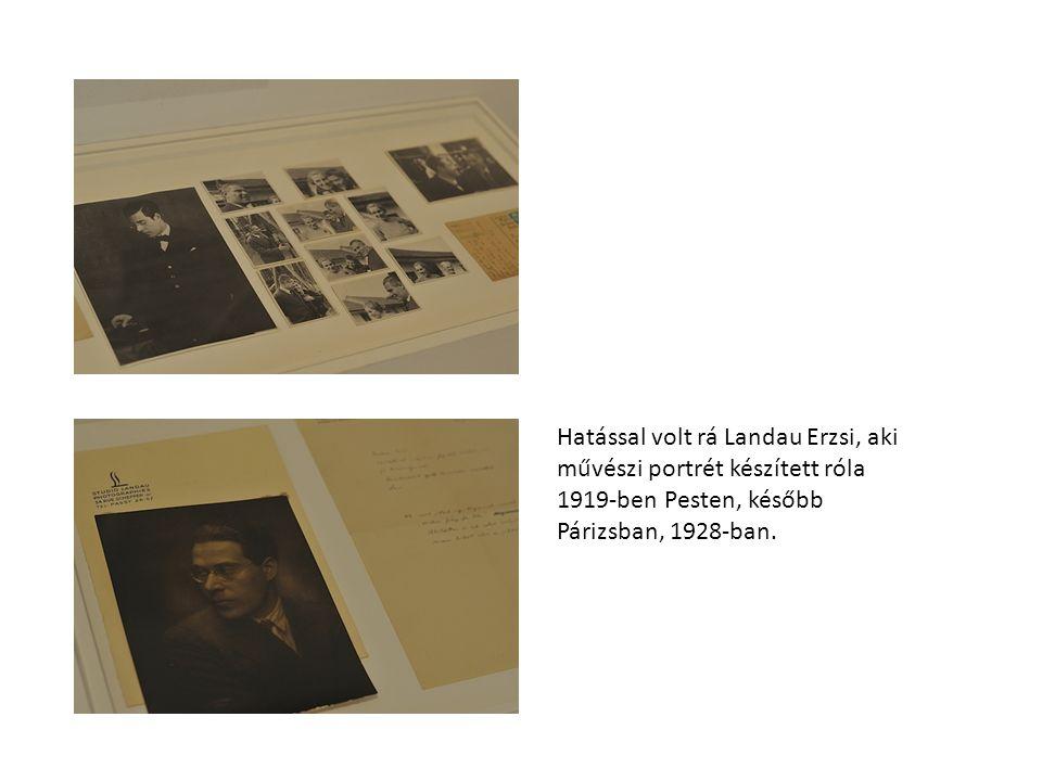 Döntő hatást jelentett a német Lucia Schultz fotóssal való megismerkedése (1920), akit feleségül vett.
