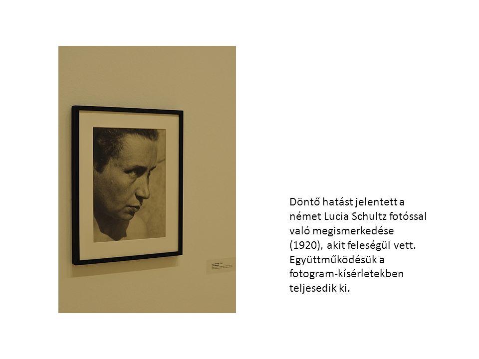 1922-ben, Berlinben dadaista képeivel, konstrukcióival keltett feltűnést.