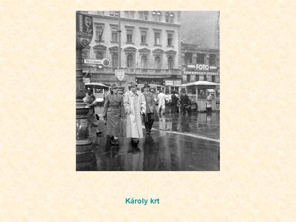 Bajcsy Zs. út – Podmaniczky u sarok, Még fordított a forgalom, a sofőrtől elválasztva hárman fértek el egymás mellett. Mint gyerek az volt a nagy szám