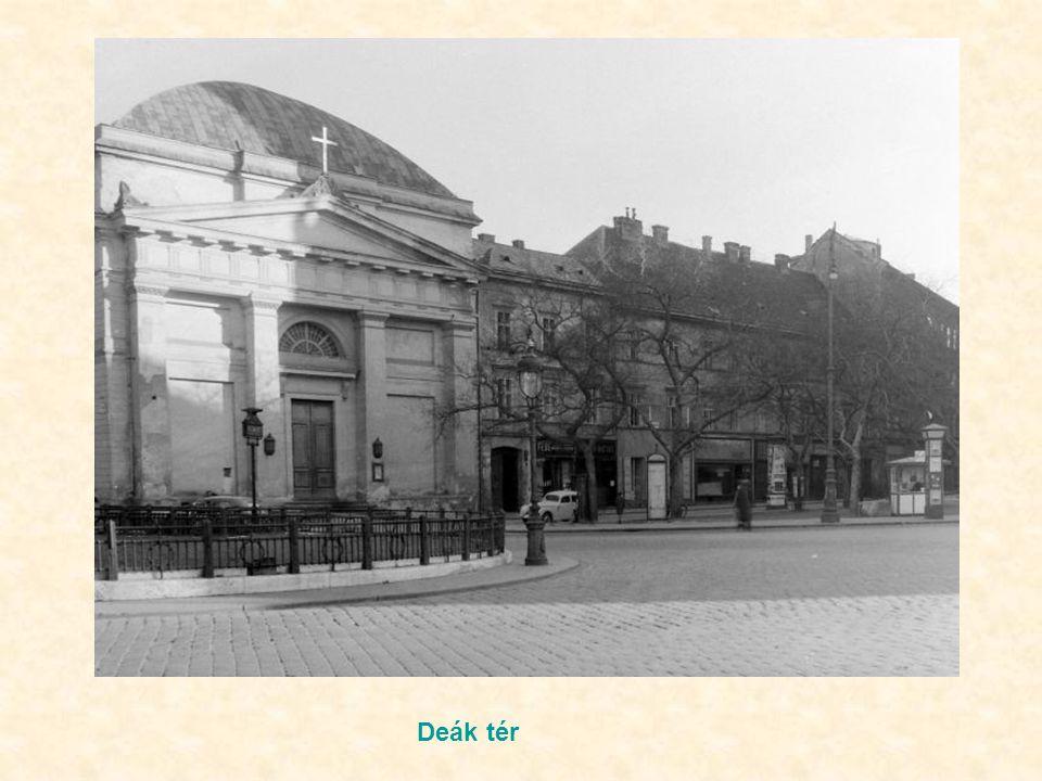 Károly krt – Kossuth L utca kereszteződése