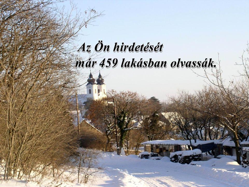 45. oldal Magtár Stúdió - Képújság Az Ön hirdetését már 459 lakásban olvassák. már 459 lakásban olvassák. Az Ön hirdetését már 459 lakásban olvassák.