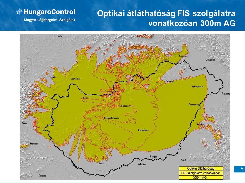 5 Optikai átláthatóság FIS szolgálatra vonatkozóan 300m AG