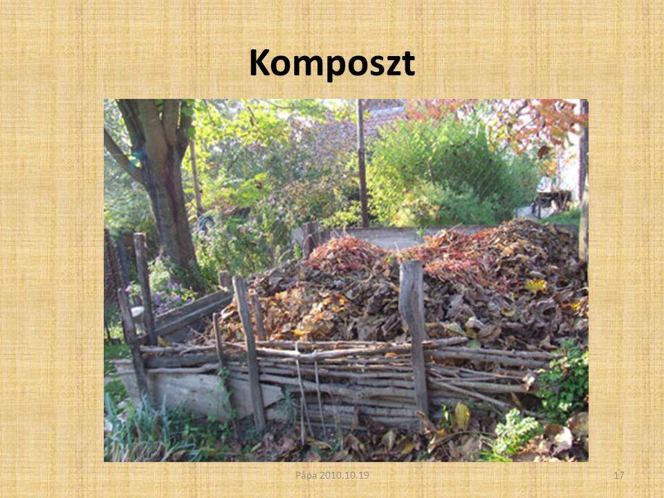 Komposzt Pápa 2010.10.1917