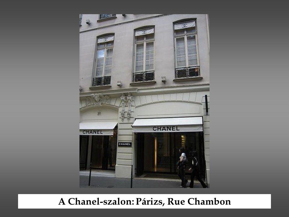 A Chanel-szalon: Párizs, Rue Chambon