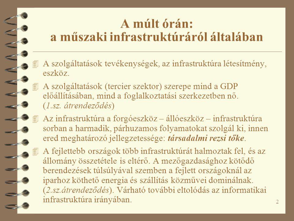 63 Logisztika és kombinált fuvarozás Újabb fejlemények 4 2008 folyamán Magyar Logisztikai Stratégia (GKM majd KHEM)