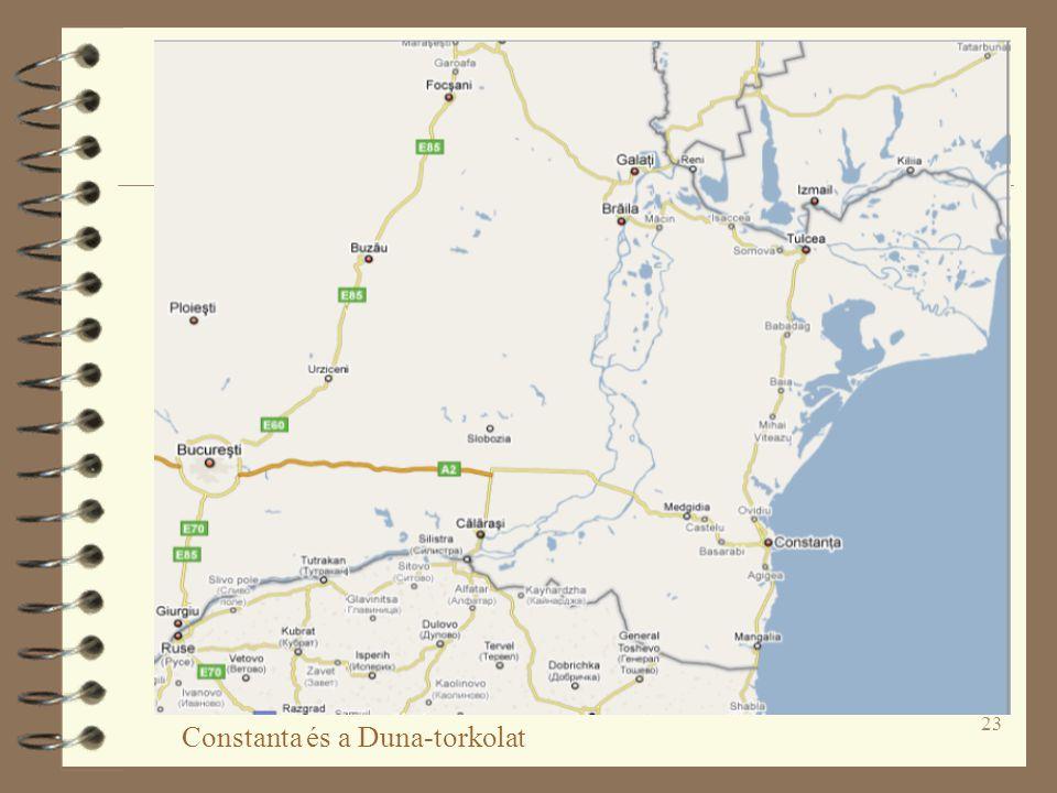 23 Constanta és a Duna-torkolat